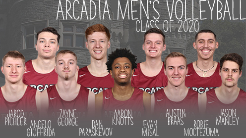 Arcadia Men's Volleyball: Class of 2020
