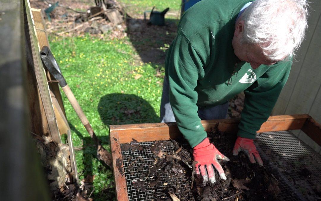 Alan Powell makes compost