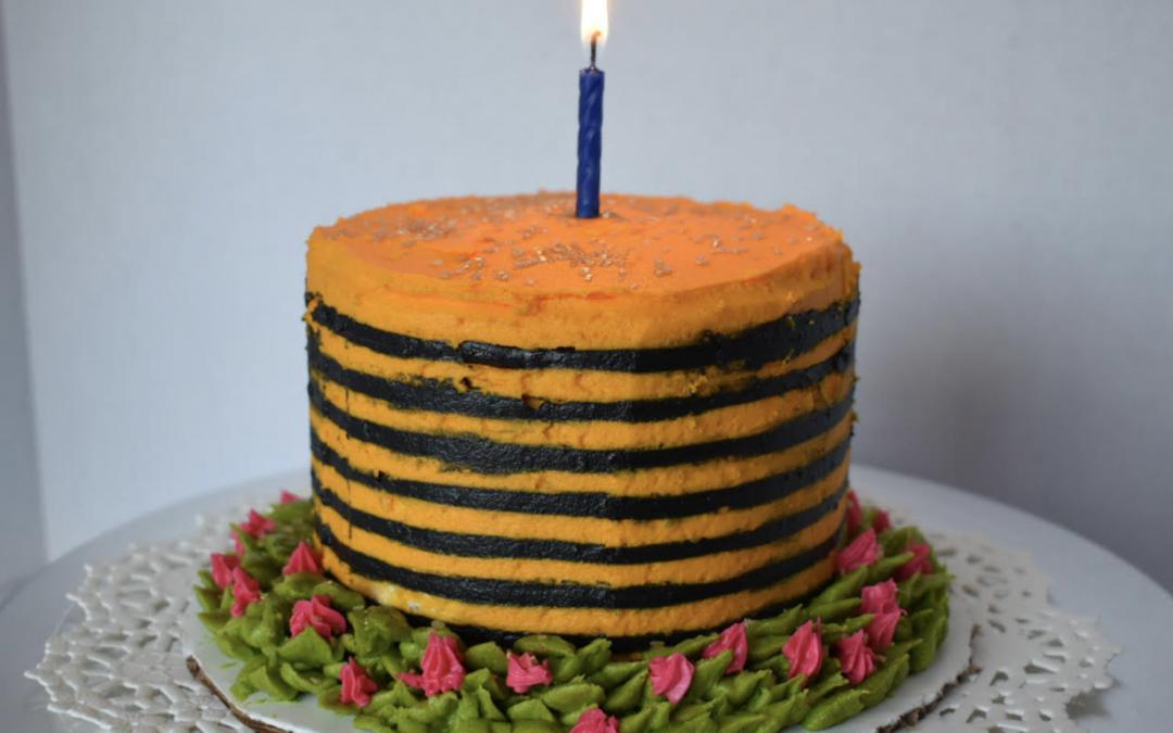 Daniel Waibel HappBee Birthday Cake